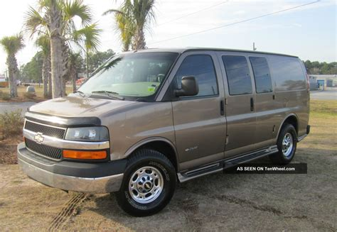 2004 Chevrolet Express 2500 Owners Manual