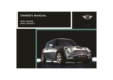 Wondrous 2004Mini Manual Epub Pdf Wiring Database Xlexigelartorg