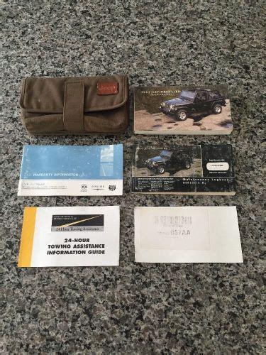 2005 Jeep Wrangler Owner Manual Pdf (ePUB/PDF)