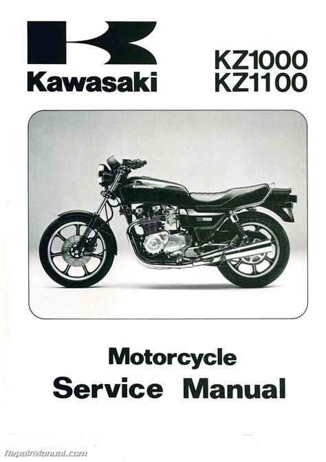 2005 Kawasaki Z1000 Service Manual (ePUB/PDF) on