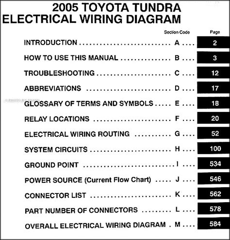 2005 tundra truck wiring diagrams