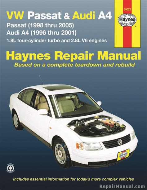 2005 Volkswagen Passat Service Repair Manual Software (Free