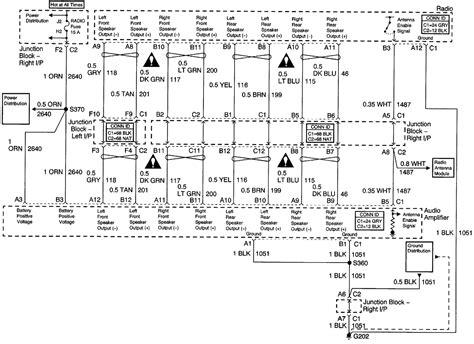 2007 chevrolet colorado radio wiring diagram