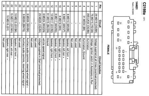 ford focu zt radio wiring diagram  wiring diagram