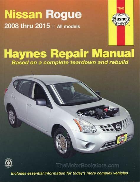2008 Nissan Rogue Repair Manual Torrent (ePUB/PDF)