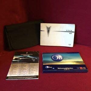 2008 Pontiac G8 Owners Manual (ePUB/PDF)