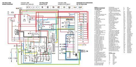 2008 yamaha r6 wiring diagram
