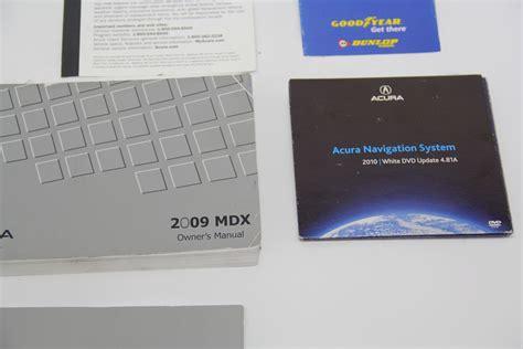 2009 Acura Mdx Owners Manual (ePUB/PDF) Free