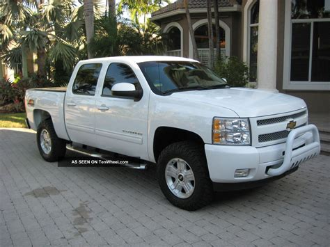2010 Chevy Silverado 1500 4x4 Owners Manual