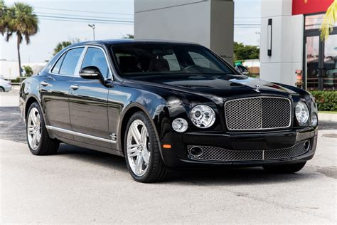 2011 Bentley Mulsanne Owners Manual
