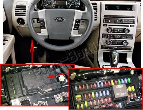 2011 ford flex fuse box diagram
