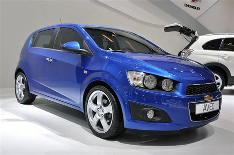 2013 Chevrolet Aveo Owners Manual