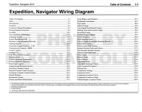 2014 Ford Expedition Wiring Diagram (ePUB/PDF) Free