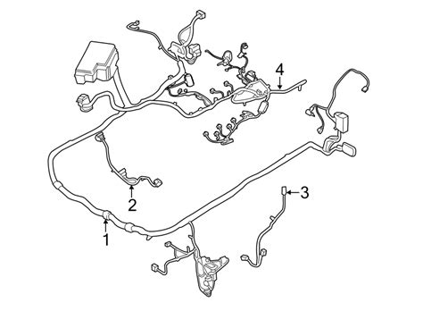 2015 ford mustang wiring harness