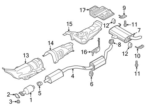 2015 Ford C-Max Hybrid Exhaust System