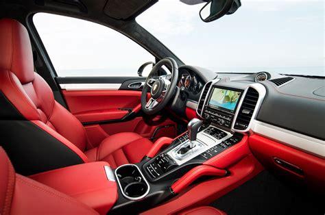 2015 Porsche Cayenne Turbo Bucket Seat