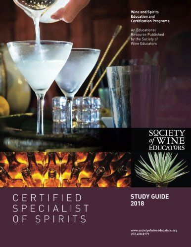2018 Certified Specialist Of Spirits Study Guide Css Study Guide