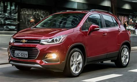 2018 Chevrolet Tracker Owners Manual