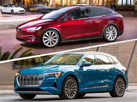 2019 Audi eTron vs. 2019 Tesla Model X: Which is Best?