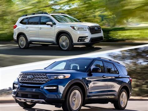 2020 Subaru Ascent vs. 2020 Ford Explorer: Which Is Best?