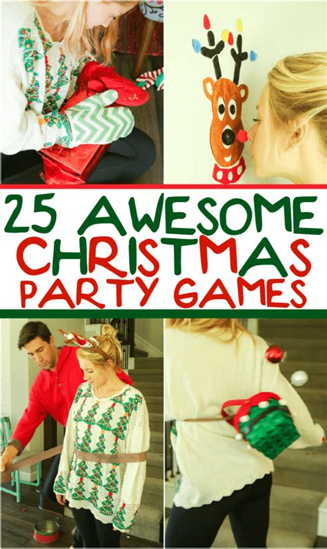 25 Hilarious Christmas Party Games You Have to Try Play