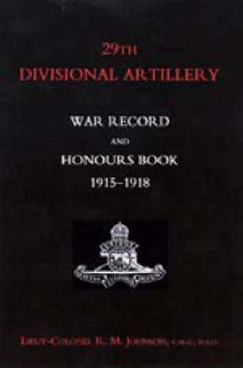 29th Divisional Artillery Johnson R M (ePUB/PDF)