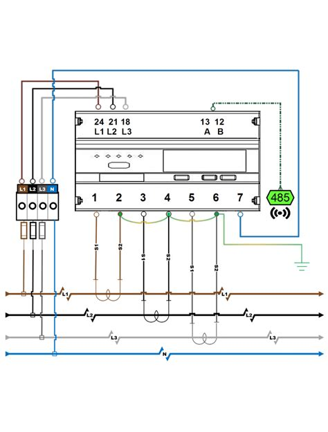 ct cabinet wiring diagram ct meter connections diagram