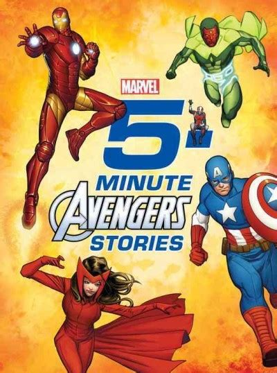 5 Minute Avengers Stories