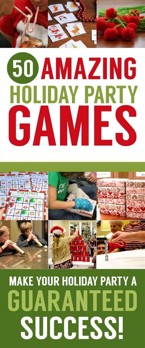 50 Christmas Games Best Christmas Party Games
