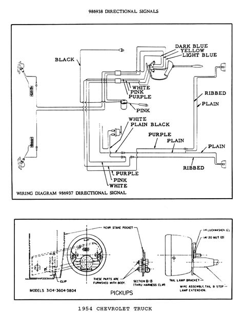 54 Chevy Truck Wiring Diagram (PDF files/ePubs) on