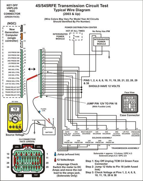 545rfe Wiring Diagram (ePUB/PDF) Free