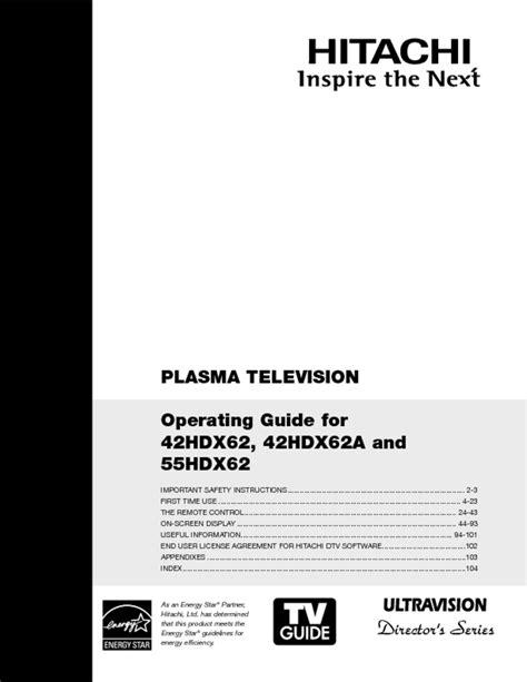 55hdx62 Manual (ePUB/PDF) Free