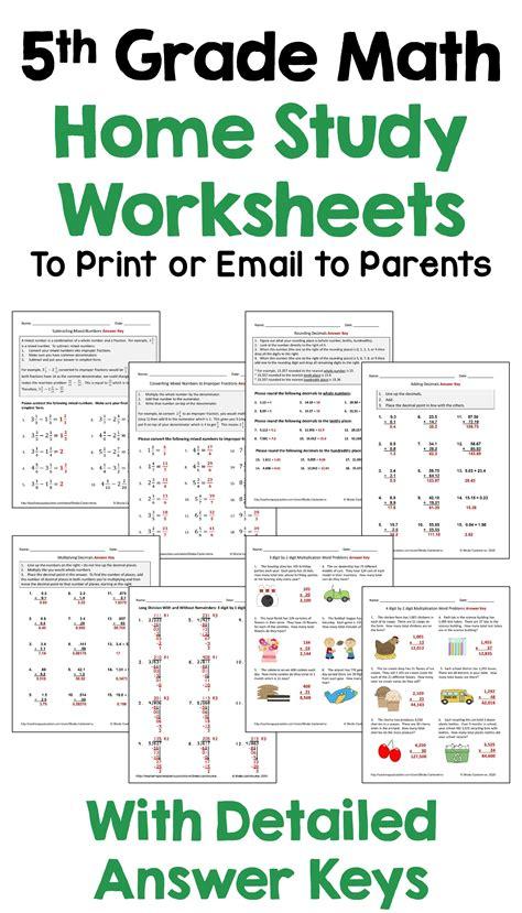 5th Grade Math Summer Packet (ePUB/PDF) Free