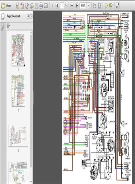 67 pontiac firebird wiring diagram