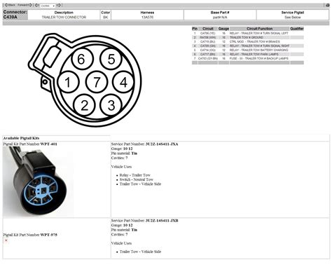 ford way plug wiring diagram images ford explorer pin trailer 7 pin trailer wiring diagram 2010 ford f 150 7