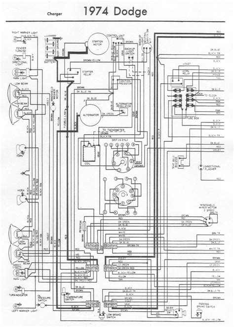 74 charger wiring diagrams
