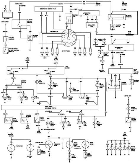 78 cj5 fuel wiring diagram