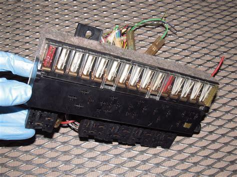 85 porsche fuse box