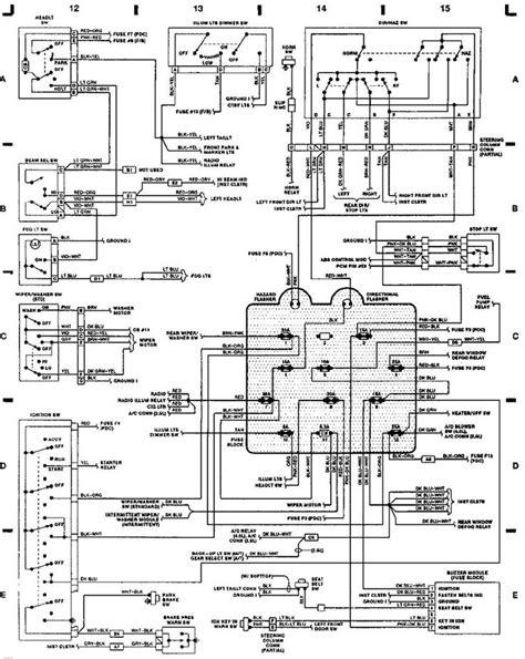 89 yj engine wiring diagram
