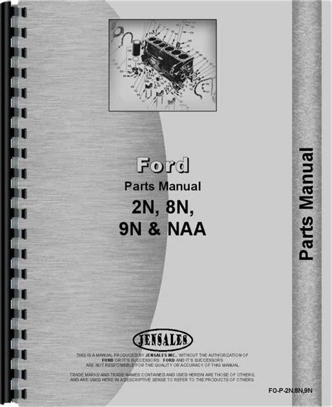 8n Parts Manual (ePUB/PDF) Free
