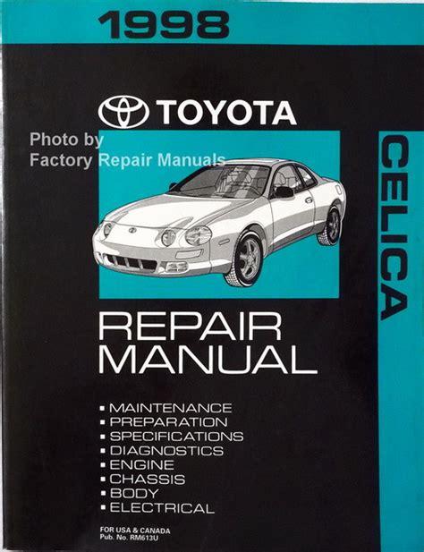 91 Celica Repair Manual (ePUB/PDF) on