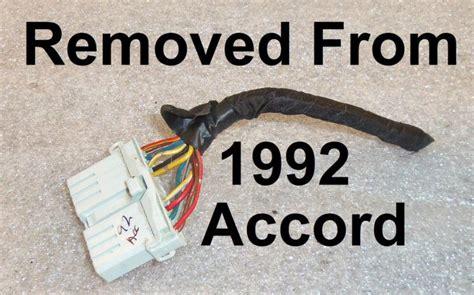 92 Honda Accord Wiring Harness (PDF files/ePubs) on