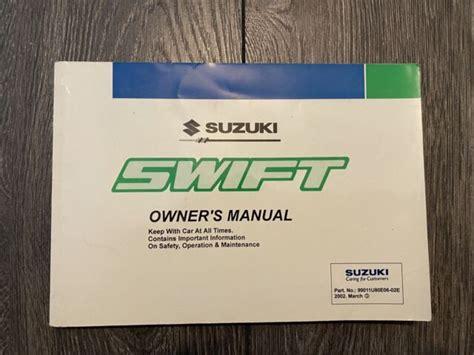 93 Suzuki Swift Owners Manual File (ePUB/PDF) Free