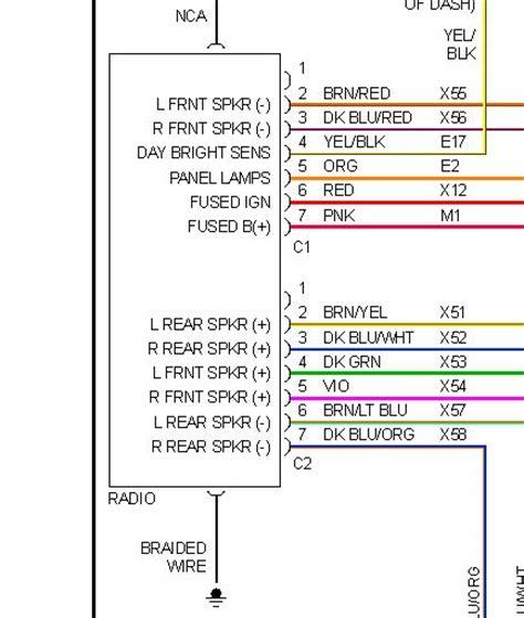 1998 dodge intrepid stereo wiring   wiring diagram data area  comitato pendolari orte