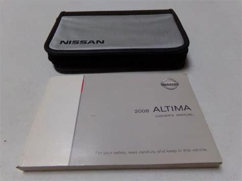 96 Nissan Altima Owners Manual (ePUB/PDF) Free