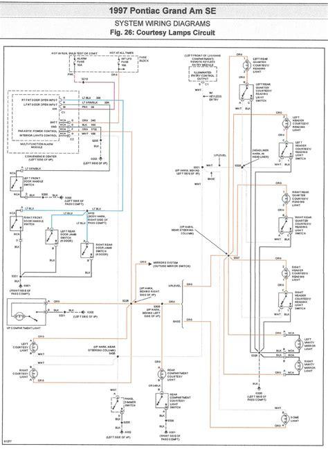97 grand am wiring diagram
