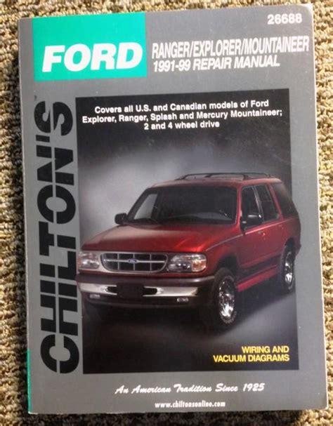 99 Ford Ranger Manual (ePUB/PDF)