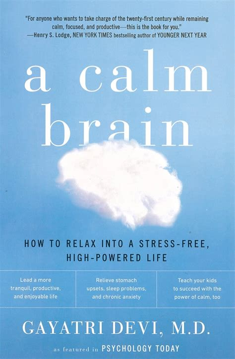 A Calm Brain How To Relax Into A StressFree HighPowered Life