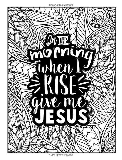 A Christian Colouring Book Coffee Jesus Adult Coloring Book With Modern Calligraphy Lettering Design Featuring Tea Cupcake Doodles Prayer Stress Relief Volume 5