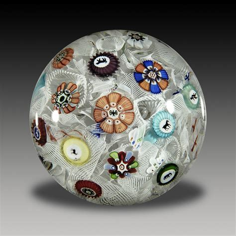 A History Of Baccarat Modern Paperweights